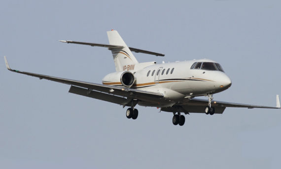 beechcraft hawker 850